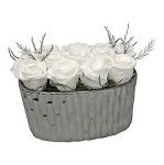 Heinau Opulent White Roses