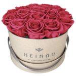 Box (Natural) Nude Pink Roses