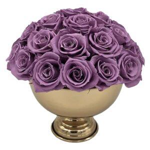 Heinau Classy 16 Purple Flowers
