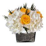 Heinau Fame Yellow Roses Arrangement